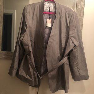NWT CAPSULE (ASOS Curve) Grey blazer 24